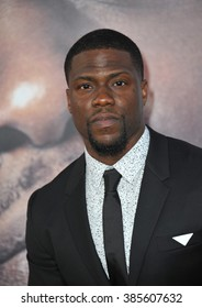 "LOS ANGELES, CA - MARCH 25, 2015: Kevin Hart at the Los Angeles premiere of his movie ""Get Hard"" at the TCL Chinese Theatre, Hollywood."
