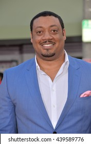 """LOS ANGELES, CA - MARCH 28, 2016: Cedric Yarbrough at the premiere for """"The Boss"""" at the Regency Village Theatre, Westwood."""