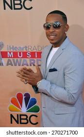LOS ANGELES, CA - MARCH 29, 2015: Ludacris at the 2015 iHeart Radio Music Awards at the Shrine Auditorium.