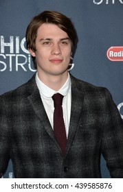 "LOS ANGELES, CA - MARCH 29, 2016: Actor Nicholas Galitzine at the premiere for ""High Strung"" at the TCL Chinese 6 Theatres, Hollywood."