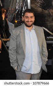 """LOS ANGELES, CA - MARCH 31, 2010: Mouloud Achour at the Los Angeles premiere of """"Clash of the Titans"""" at Grauman's Chinese Theatre, Hollywood."""