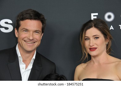 """LOS ANGELES, CA - MARCH 5, 2014: Jason Bateman & Kathryn Hahn at the Los Angeles premiere of their movie """"Bad Words"""" at the Cinerama Dome, Hollywood."""