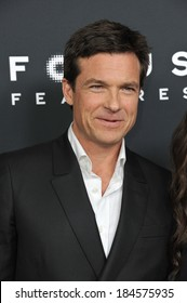 """LOS ANGELES, CA - MARCH 5, 2014: Jason Bateman at the Los Angeles premiere of his movie """"Bad Words"""" at the Cinerama Dome, Hollywood."""