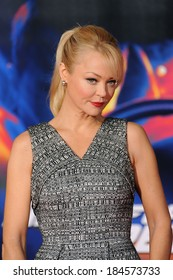 """LOS ANGELES, CA - MARCH 6, 2014: Charlotte Ross at the U.S. premiere of """"Need for Speed"""" at the TCL Chinese Theatre, Hollywood."""