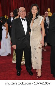 LOS ANGELES, CA - MARCH 7, 2010: Rupert Murdoch & Wendi Deng at the 82nd Annual Academy Awards at the Kodak Theatre, Hollywood.