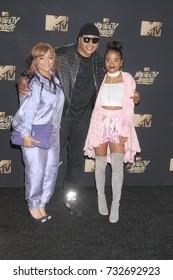 LOS ANGELES, CA - May 07, 2017: LL Cool J at the 2017 MTV Movie & TV Awards at the Shrine Auditorium