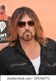 LOS ANGELES, CA - MAY 1, 2014: Billy Ray Cyrus at the 2014 iHeartRadio Music Awards at the Shrine Auditorium, Los Angeles.