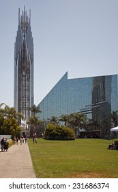 LOS ANGELES, CA - MAY 24, 2009 - Crystal Cathedral by Philip Johnson. Los Angeles