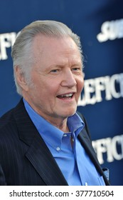 """LOS ANGELES, CA - MAY 29, 2014: Jon Voight at the world premiere of """"Maleficent"""" at the El Capitan Theatre, Hollywood."""