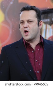 LOS ANGELES, CA - NOV 3: Vince Vaughn at the premiere of 'Fred Claus' at the Grauman's Chinese Theater on November 3, 2007 in Los Angeles, California