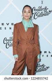 LOS ANGELES, CA - NOVEMBER 03: Cara Santana arrives at Beverly Center's Grand Reveal Weekend held at Beverly Center on November 3, 2018 in Los Angeles, California.