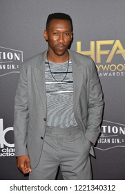 LOS ANGELES, CA. November 04, 2018: Mahershala Ali  at the 22nd Annual Hollywood Film Awards at the Beverly Hilton Hotel.