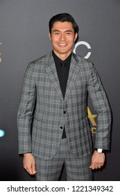 LOS ANGELES, CA. November 04, 2018: Henry Golding at the 22nd Annual Hollywood Film Awards at the Beverly Hilton Hotel.