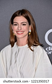 LOS ANGELES, CA. November 04, 2018: Anne Hathaway at the 22nd Annual Hollywood Film Awards at the Beverly Hilton Hotel.