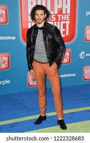 "LOS ANGELES, CA. November 05, 2018: Tommy Martinez at the world premiere of ""Ralph Breaks The Internet"" at the El Capitan Theatre.