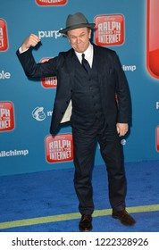 "LOS ANGELES, CA. November 05, 2018: John C. Reilly at the world premiere of ""Ralph Breaks The Internet"" at the El Capitan Theatre.