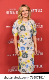 LOS ANGELES, CA - November 09, 2017: Kristen Bell at the SAG-AFTRA Foundation's Patron of the Artists Awards at the Wallis Annenberg Center for the Performing Arts