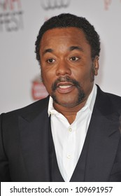 """LOS ANGELES, CA - NOVEMBER 1, 2009: Lee Daniels at the Los Angeles premiere of his new movie """"Precious"""" at Grauman's Chinese Theatre, Hollywood."""