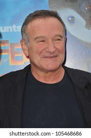 """LOS ANGELES, CA - NOVEMBER 13, 2011: Robin Williams at the world premiere of his new movie """"Happy Feet Two"""" at Grauman's Chinese Theatre, Hollywood. November 13, 2011  Los Angeles, CA"""