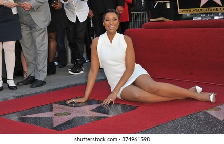 LOS ANGELES, CA - NOVEMBER 13, 2013: Actress/singer Jennifer Hudson is honored with the 2,512th star on the Hollywood Walk of Fame.Picture: Paul Smith / Featureflash