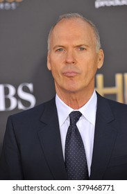 LOS ANGELES, CA - NOVEMBER 14, 2014: Michael Keaton at the 2014 Hollywood Film Awards at the Hollywood Palladium.