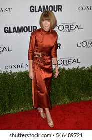 LOS ANGELES, CA. November 14, 2016: Vogue editor Anna Wintour at the Glamour Magazine 2016 Women of the Year Awards at NeueHouse, Hollywood.