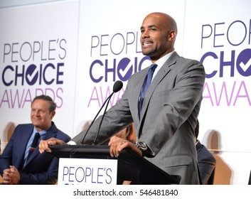 LOS ANGELES, CA. November 15, 2016: Actor Boris Kodjoe at the Nominations Announcement for the 2017 People's Choice Awards at the Paley Center for Media, Beverly Hills.