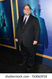 """LOS ANGELES, CA - November 15, 2017: Guillermo del Toro  at the Los Angeles premiere of """"The Shape of Water"""" at the Academy of Motion Picture Arts & Sciences"""