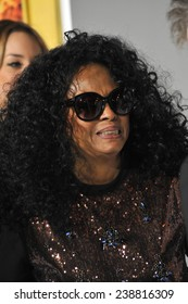 "LOS ANGELES, CA - NOVEMBER 17, 2014: Diana Ross at the Los Angeles premiere of ""The Hunger Games: Mockingjay Part One"" at the Nokia Theatre LA Live."