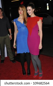 "LOS ANGELES, CA - NOVEMBER 2, 2009: Yvonne Zima (left) & Madeline Zima at the premiere of ""The Imaginarium of Dr. Parnassus"" at Grauman's Chinese Theatre, Hollywood."