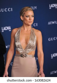 LOS ANGELES, CA - NOVEMBER 2, 2013: Kate Hudson at the 2013 LACMA Art+Film Gala at the Los Angeles County Museum of Art.