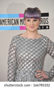 LOS ANGELES, CA - NOVEMBER 24, 2013: Kelly Osbourne at the 2013 American Music Awards at the Nokia Theatre, LA Live.