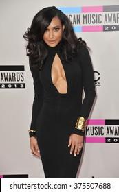 LOS ANGELES, CA - NOVEMBER 24, 2013: Naya Rivera at the 2013 American Music Awards at the Nokia Theatre, LA Live.