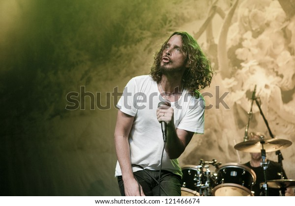 LOS ANGELES, CA - NOVEMBER 27: Soundgarden sells out the Henry Fonda Theatre on November 27, 2012 in Los Angeles, California.