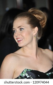"""LOS ANGELES, CA - NOVEMBER 3, 2012: Amy Adams at the AFI Fest premiere of her movie """"On The Road"""" at Grauman's Chinese Theatre, Hollywood."""