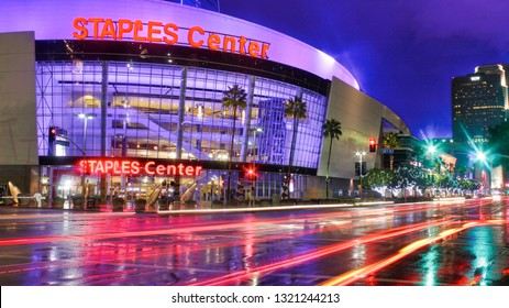 Los Angeles, CA. - November 30, 2014: Staples Center