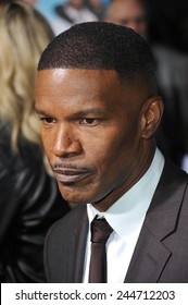 """LOS ANGELES, CA - NOVEMBER 4, 2014: Jamie Foxx at the Los Angeles premiere of his movie """"Horrible Bosses 2"""" at the TCL Chinese Theatre, Hollywood."""
