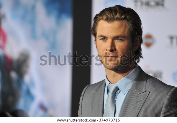 """LOS ANGELES, CA - NOVEMBER 4, 2013: Chris Hemsworth at the US premiere of his movie """"Thor: The Dark World"""" at the El Capitan Theatre, Hollywood. Picture: Paul Smith / Featureflash"""