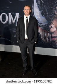 "LOS ANGELES, CA. October 01, 2018: Ruben Fleischer at the world premiere for ""Venom"" at the Regency Village Theatre.