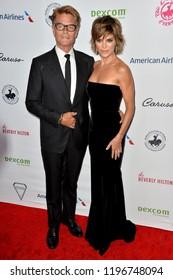 LOS ANGELES, CA. October 06, 2018: Harry Hamlin & Lisa Rinna  at the 2018 Carousel of Hope Ball at the Beverly Hilton Hotel.