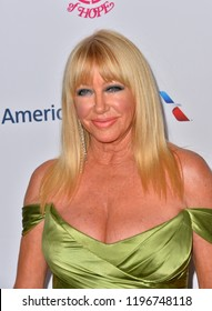 LOS ANGELES, CA. October 06, 2018: Suzanne Somers at the 2018 Carousel of Hope Ball at the Beverly Hilton Hotel.