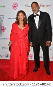 LOS ANGELES, CA. October 06, 2018: Debbie Allen & Norm Nixon at the 2018 Carousel of Hope Ball at the Beverly Hilton Hotel.