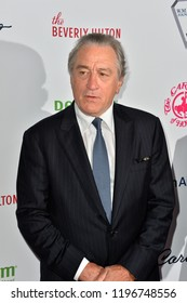 LOS ANGELES, CA. October 06, 2018: Robert De Niro  at the 2018 Carousel of Hope Ball at the Beverly Hilton Hotel.