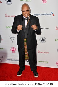 LOS ANGELES, CA. October 06, 2018: Quincy Jones at the 2018 Carousel of Hope Ball at the Beverly Hilton Hotel.