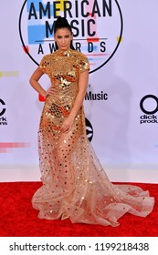 LOS ANGELES, CA. October 09, 2018: Lexy Panterra at the 2018 American Music Awards at the Microsoft Theatre LA Live.Picture: Paul Smith/Featureflash