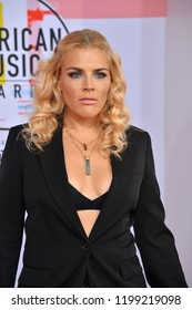 LOS ANGELES, CA. October 09, 2018: Busy Philipps at the 2018 American Music Awards at the Microsoft Theatre LA Live.