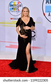 LOS ANGELES, CA. October 09, 2018: Carrie Underwood at the 2018 American Music Awards at the Microsoft Theatre LA Live.