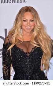 LOS ANGELES, CA. October 09, 2018: Mariah Carey at the 2018 American Music Awards at the Microsoft Theatre LA Live.