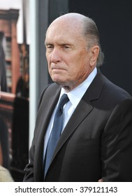 "LOS ANGELES, CA - OCTOBER 1, 2014: Robert Duvall at the Los Angeles premiere of his movie ""The Judge"" at the Samuel Goldwyn Theatre, Beverly Hills."