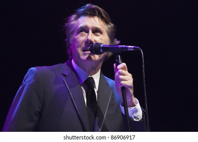 LOS ANGELES, CA - OCTOBER 15: Bryan Ferry performs in support of his Olympia release at The Greek Theater on October 15, 2011 in Los Angeles, California.